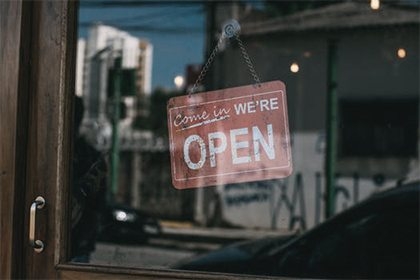 Your website lets people know you're open for business!